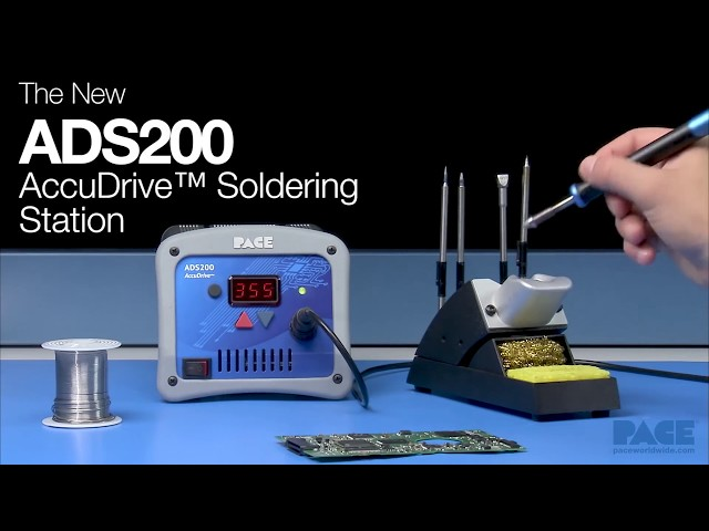 ADS200 AccuDrive® Production Soldering Station Video