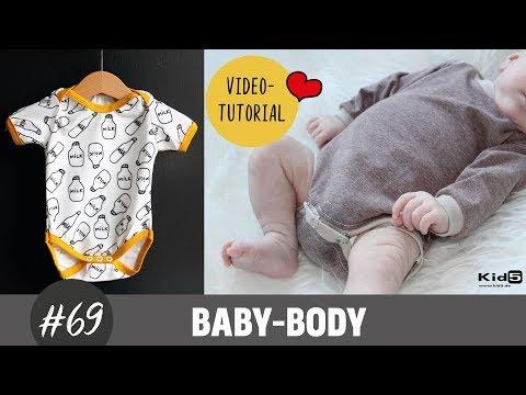 Süßen Baby Body ganz einfach selber nähen DIY-Näh-Tutorial