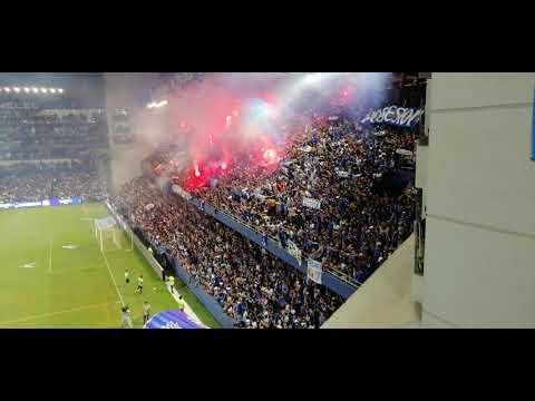 """Recibimiento Emelec 2 - 0 Liga de Portoviejo"" Barra: Boca del Pozo • Club: Emelec"
