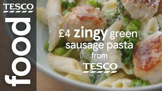 £4 creamy sausage pasta
