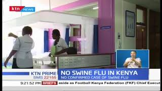 No Swine flu in Kenya
