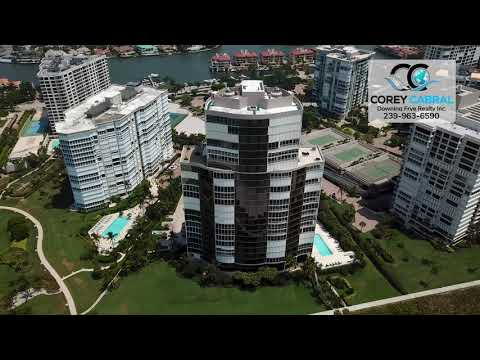 Park Shore Le Rivage Real Estate Flyover in Naples, Florida
