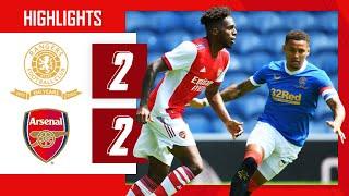 TAVARES SCORES ON HIS DEBUT   Rangers vs Arsenal (2-2)   Pre-season friendly   Tavares, Nketiah