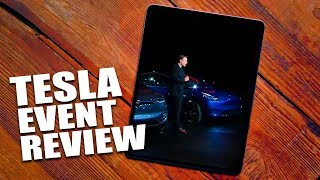 Tesla Model Y launch event review