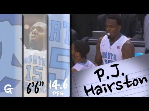 Official Highlights | North Carolina Guard P.J. Hairston