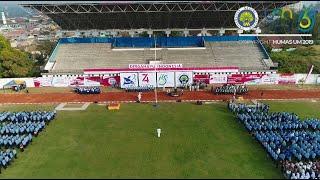 Upacara Pengibaran Bendera HUT ke-74 Kemerdekaan RI di Universitas Negeri Malang (UM) (17/8/2019)