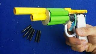 Как сделать револьвер пистолет с использованием бумаги | 6 бумажные пули