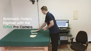 NShot -Pro: Pattern Digitizing Software System with a Camera (CAD/CAM files)