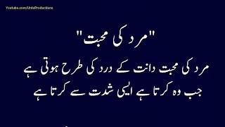 Amazing Urdu Quotes About Husband Wife Relation