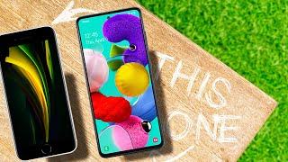 FINAL BATTLE - Apple iPhone SE (2020) vs Samsung Galaxy A51
