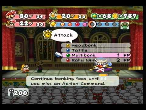 Paper Mario The Thousand Year Door Smorg