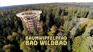 preview picture of video 'Baumwipfelpfad Bad Wildbad/Schwarzwald'