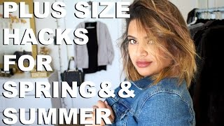 Plus Size TIps for Spring and Summer