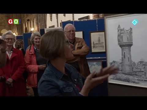 Schilderijen en tekeningenexpositie Marktpleinkerk - RTV GO! Omroep Gemeente Oldambt