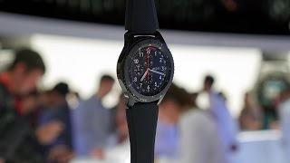 Samsung Gear S3 Hands-on: Beauty Takes Over Geeky
