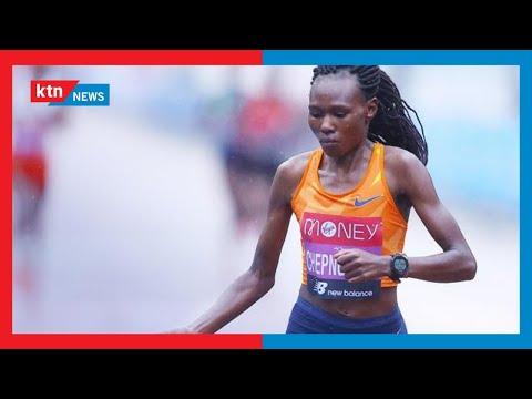 Ruth Chepng'etich ameapa kuivunja rekodi ya mbio za marathon kwenye mashindano ya Olimpiki, Tokyo