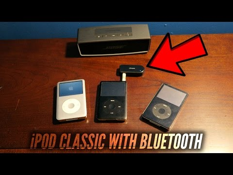 TURN ANYTHING INTO BLUETOOTH WITH A HEADPHONE PORT! (iPOD CLASSIC with Bluetooth)