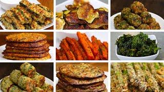 10 Easy Low-Carb Veggie Snacks