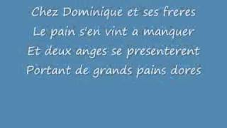 Dominique (& lyrics france, english, espanol). Soeur Sourire (the Singing Nun).mp4