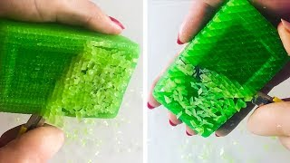 The Most Satisfactory Videos Of Cutting Soap, Crushing Soap, Soap Of Cubes And More 10