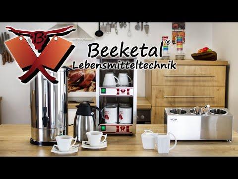 Beeketal Gastro Gastronomie Kaffeemaschine