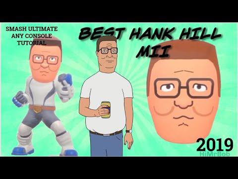 HANK HILL Mii Tutorial! | Nintendo Switch, Smash Ultimate Mii Brawler, Any Console, 2019 |