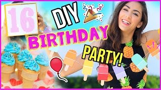 Birthday DIYS! Treats, Gifts, And More!