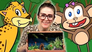 Jungle Diorama Craft - The Jungle Book Inspired   Arts And Crafts With Crafty Carol At Cool School