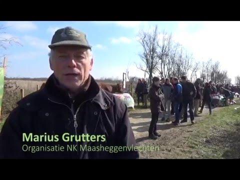 Impressie NK Maasheggenvlechten 13 maart 2016.