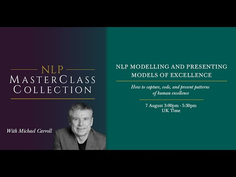 NLP Modelling and Presenting Models of Excellence