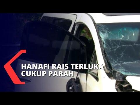kecelakaan di tol cipali hanafi rais dilarikan ke rumah sakit