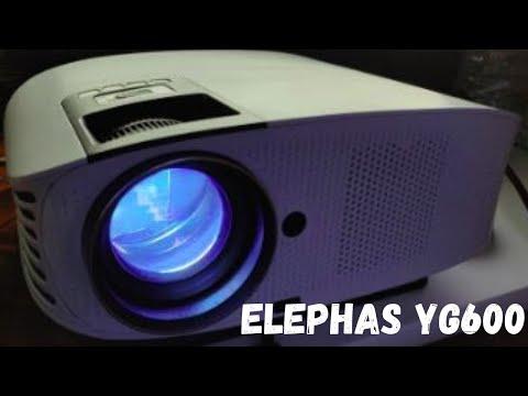Proyector ELEPHAS YG600. ✅. ¿QUE PROYECTOR COMPRAR?. Proyector Elephas con 5500 lúmens español