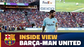INSIDE TOUR   Behind the scenes Barça - Manchester United (ICC 2017)