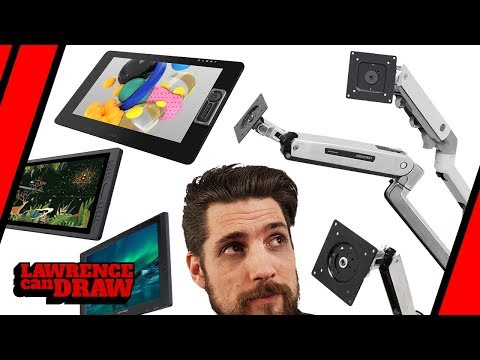 Which Ergotron arm is right for my drawing tablet?