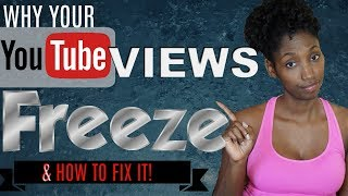 Why are MY VIEWS FROZEN? | How to Fix Frozen view count