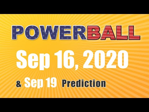 Winning numbers prediction for 2020-09-19|U.S. Powerball