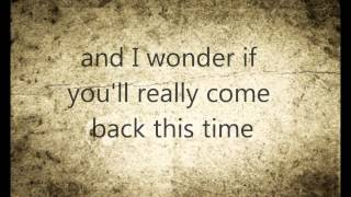 Joe Purdy- Some Things Don't Work Out (lyrics)
