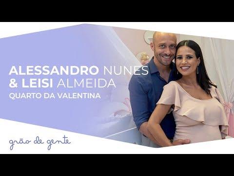Coleção Anjo Rosa é a escolha de Alessandro Nunes e Leisi Almeida