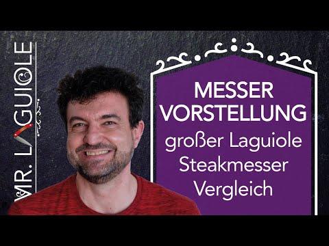größter Laguiole-Steakmesser-Vergleich: 16 Steakmesser von 5 verschiedenen Schmieden