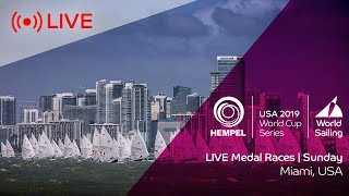 Olympics: Sunday medal races live from Miami – 2019 Sailing World Cup Series (0900 Pacific / 1700 UT