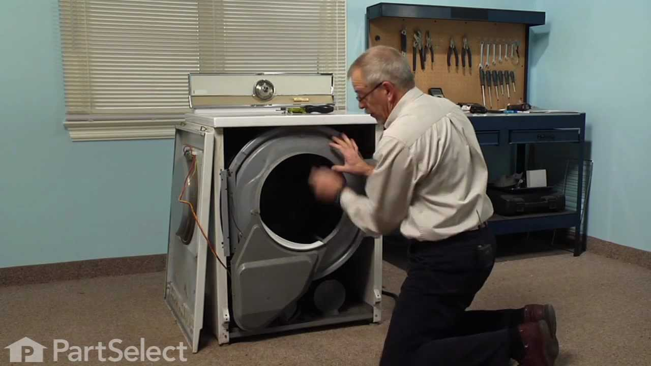 Replacing your Maytag Dryer Idler Pulley Wheel