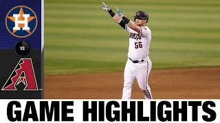 Calhoun drills walk-off in D-backs' 5-4 win | Astros-D-backs Game Highlights 8/6/20
