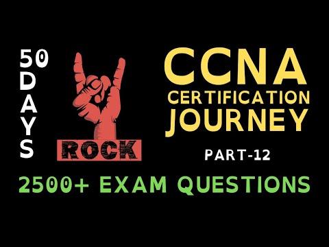 12. 50 Days CCNA Certification Journey   CCNA 200-301 ... - YouTube