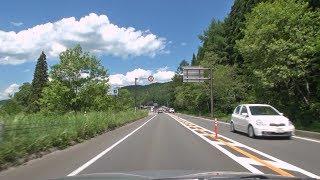 国道148号長野県大町市~白馬村~小谷村車載動画[2014-06]