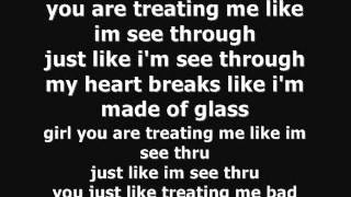 Chris Brown - See Through (Lyrics on Screen)