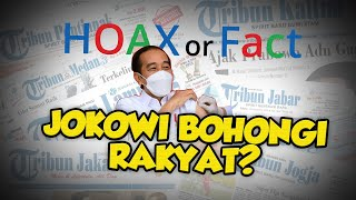 Benarkah Presiden Jokowi Bohongi Rakyat karena Disuntik Vaksin Covid-19 Pfizer? Begini Faktanya