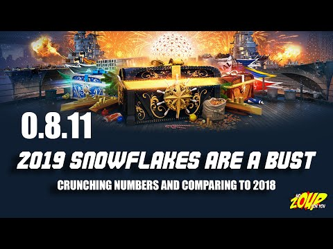 WoWS 2019 Snowflake Steel Christmas Event is a Letdown
