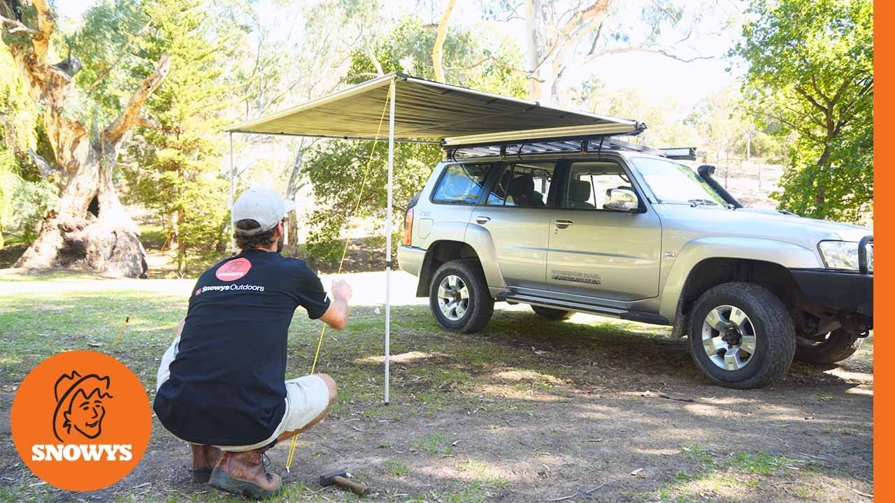 Side Pull Out Awning 2.5 x 2.5m