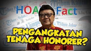 Hoaks Surat Pengangkatan Tenaga Honorer oleh Menteri PANRB Tanpa Tes, Ini Faktanya