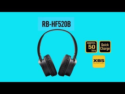 Panasonic RB-HF520BE-K Bluetooth Kopfhörer, schwarz